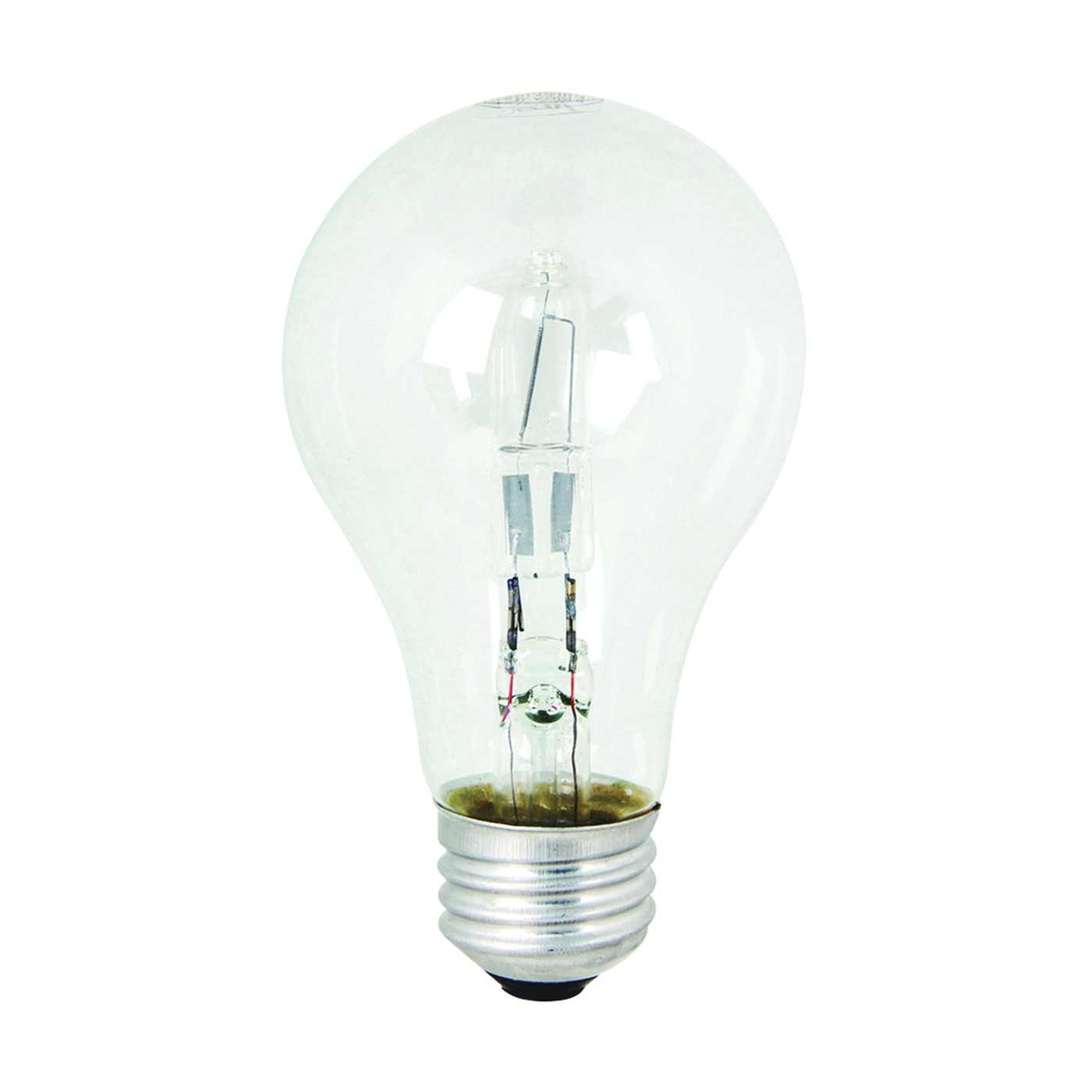 Picture of Feit Electric Q43A/CL/2 Halogen Lamp, 43 W, Medium E26 Lamp Base, A19 Lamp, Soft White Light, 750 Lumens