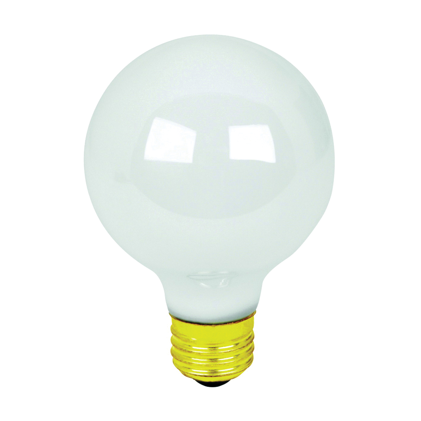 Picture of Feit Electric Q40G25/W Halogen Lamp, 40 W, Medium E26 Lamp Base, G25 Lamp, 600 Lumens, 3000 K Color Temp