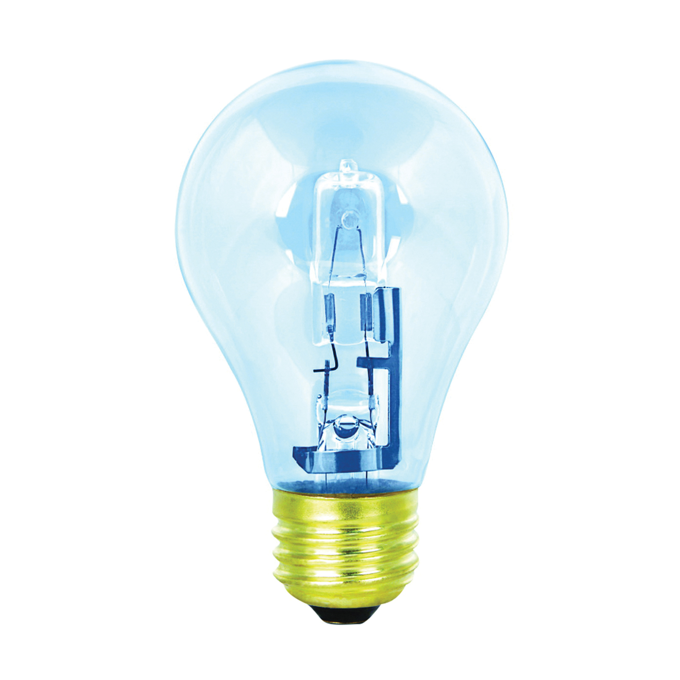 Picture of Feit Electric Q43A/CL/D/2 Halogen Lamp, 43 W, Medium E26 Lamp Base, A19 Lamp, Soft White Light, 565 Lumens