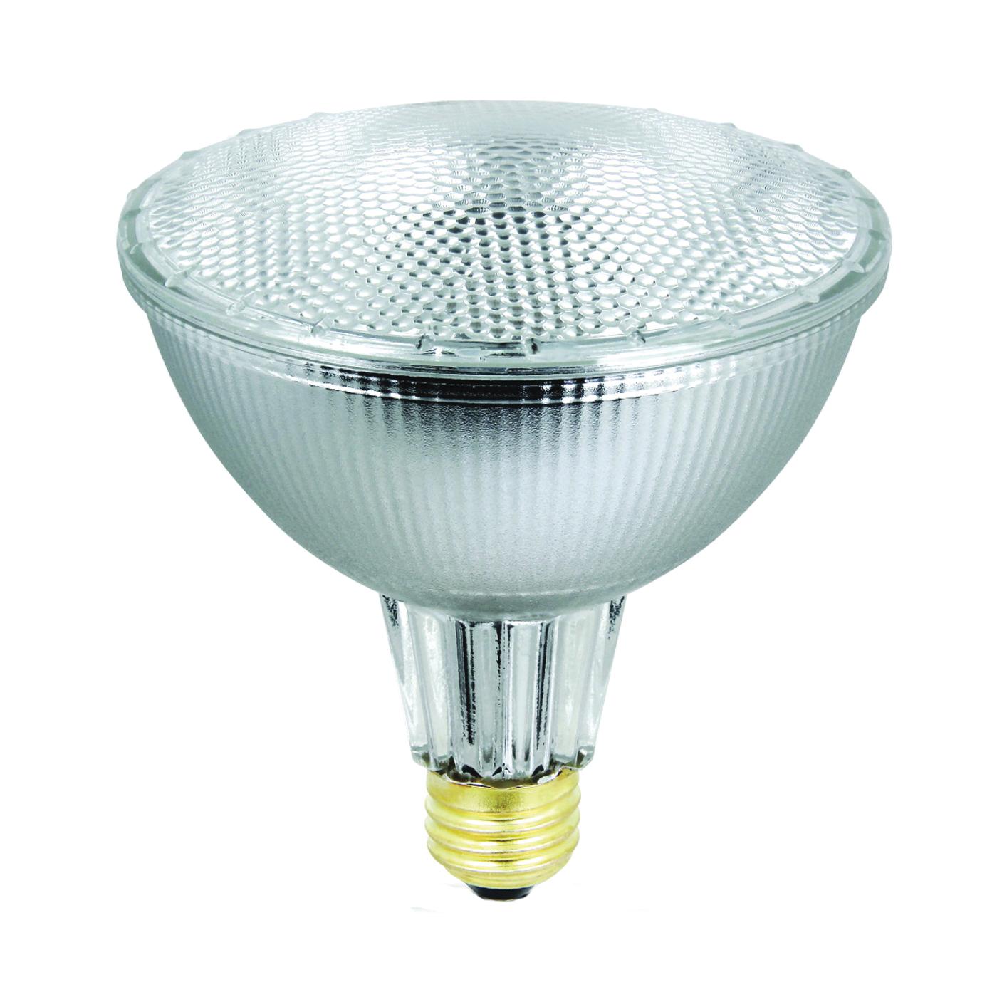 Picture of Feit Electric 55PAR38/QFL/ES Halogen Lamp, 56 W, Medium E26 Lamp Base, PAR38 Lamp, Soft White Light, 980 Lumens