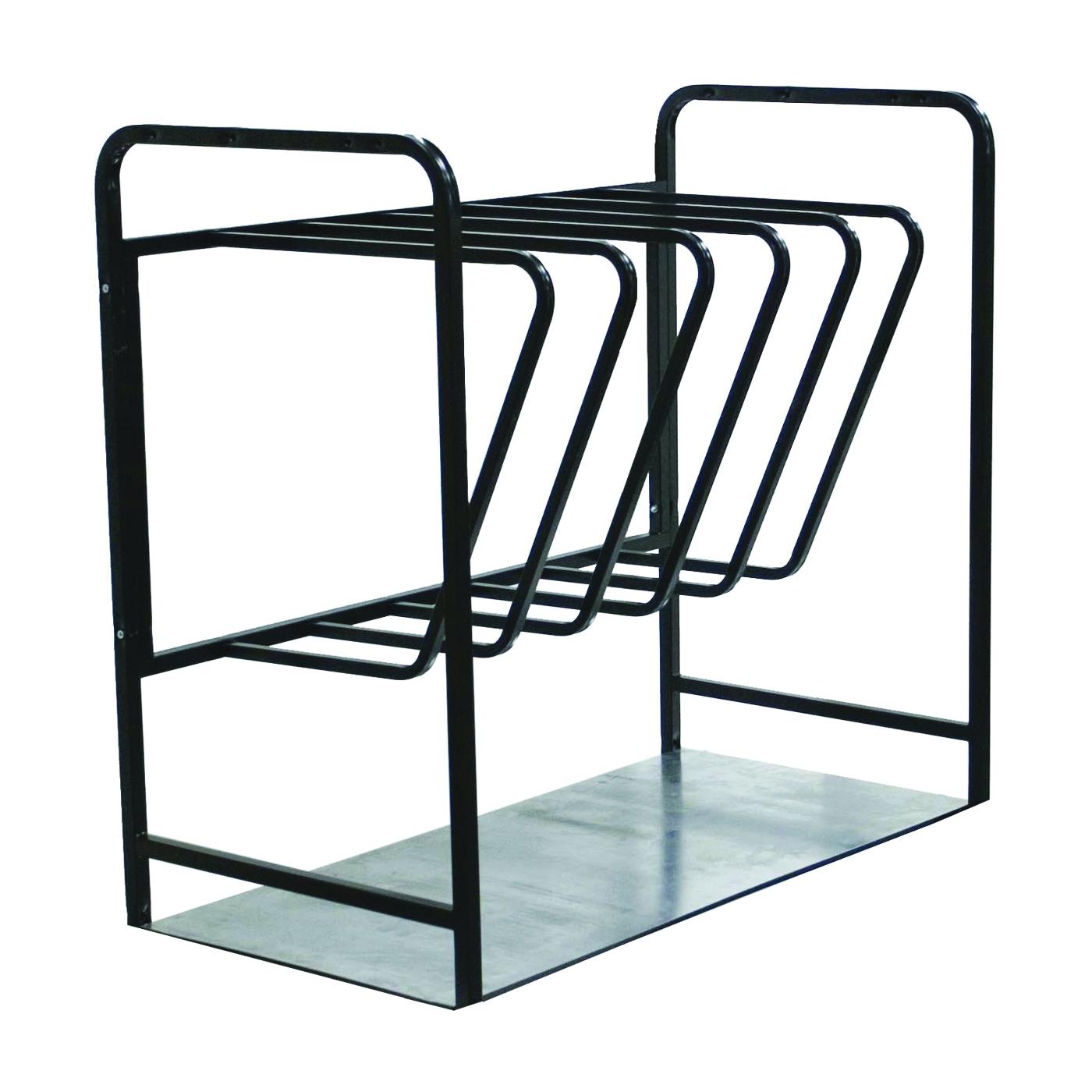 Picture of WERNER 37 Ladder Rack, 7 Ladders, Metal, Black