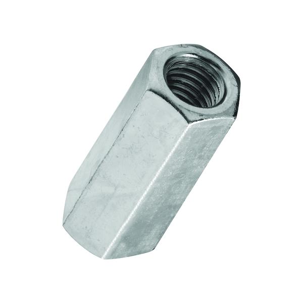 Picture of Stanley Hardware 4003 Series 182691 Coupling Nut, UNC Thread, 7/16-14 in Thread, Steel, Zinc