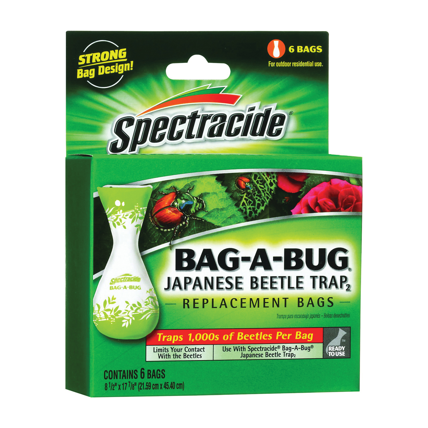 Picture of Spectracide 56903 Japanese Beetle Trap Bag, Bag
