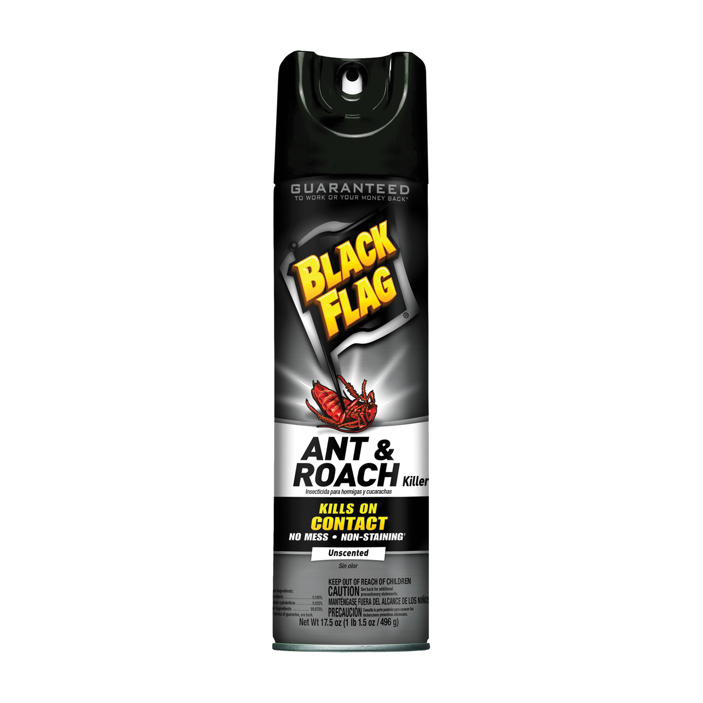 Picture of Black Flag 11031 Ant and Roach Killer, Liquid, 17.5 oz Package, Aerosol Can
