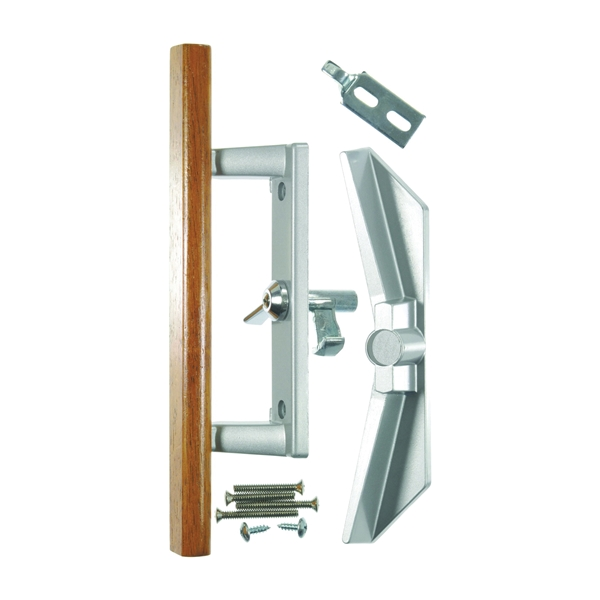 Picture of Wright Products V1104 Patio Door Latch, Aluminum, Surface Mounting