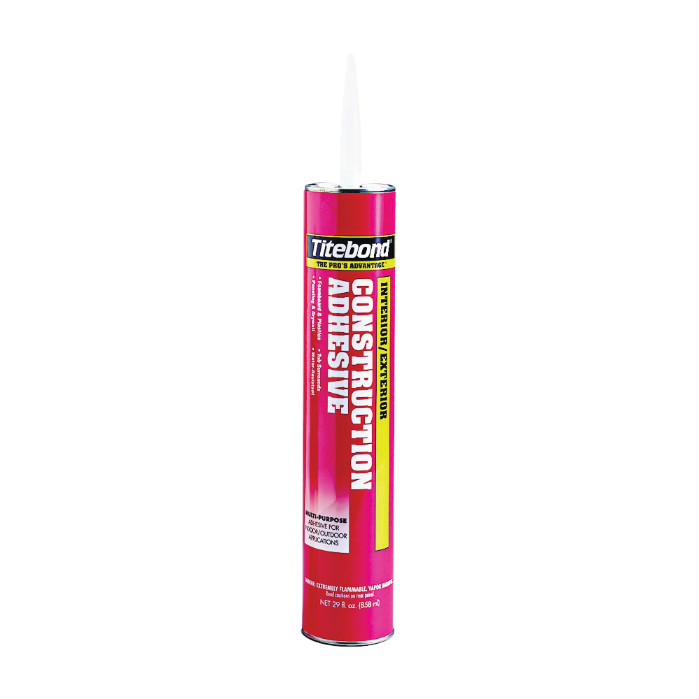 Picture of Titebond 3452 Construction Adhesive, Tan, 28 oz Package, Cartridge