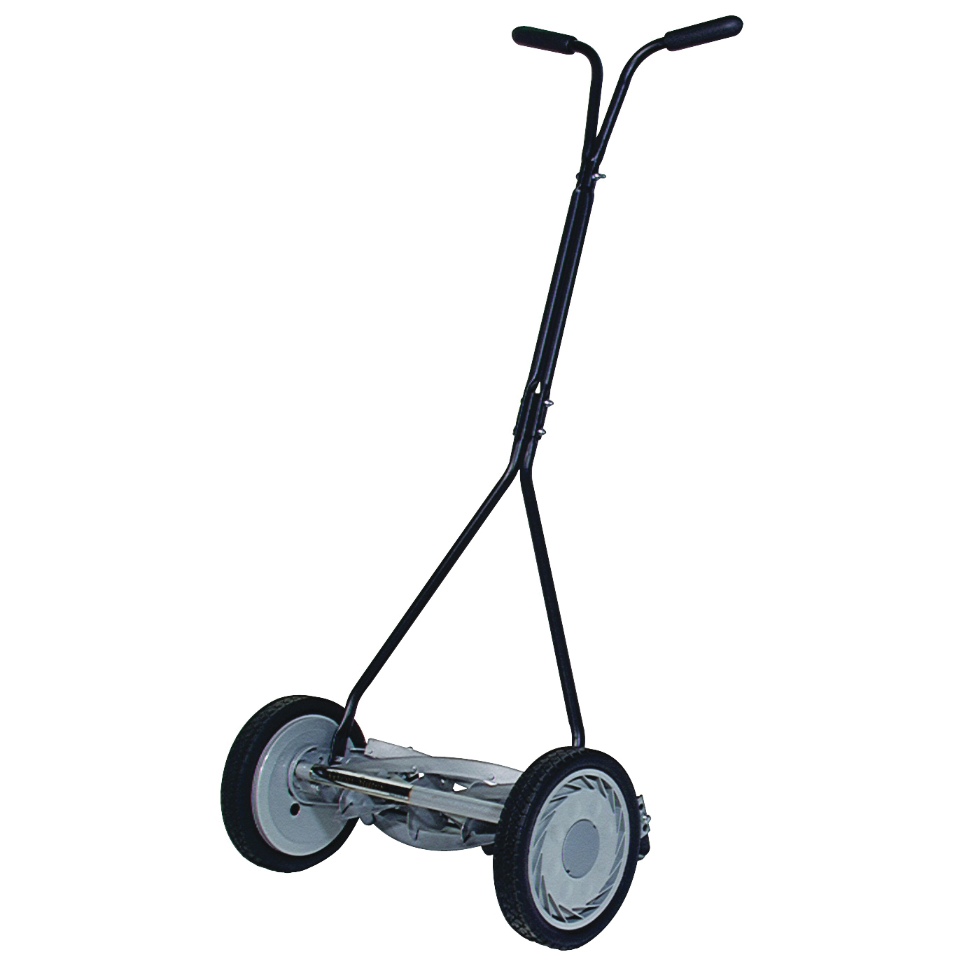 Picture of GREAT STATES 415-16 Reel Lawn Mower, 16 in W Cutting, 5 -Blade, T-Shaped Handle