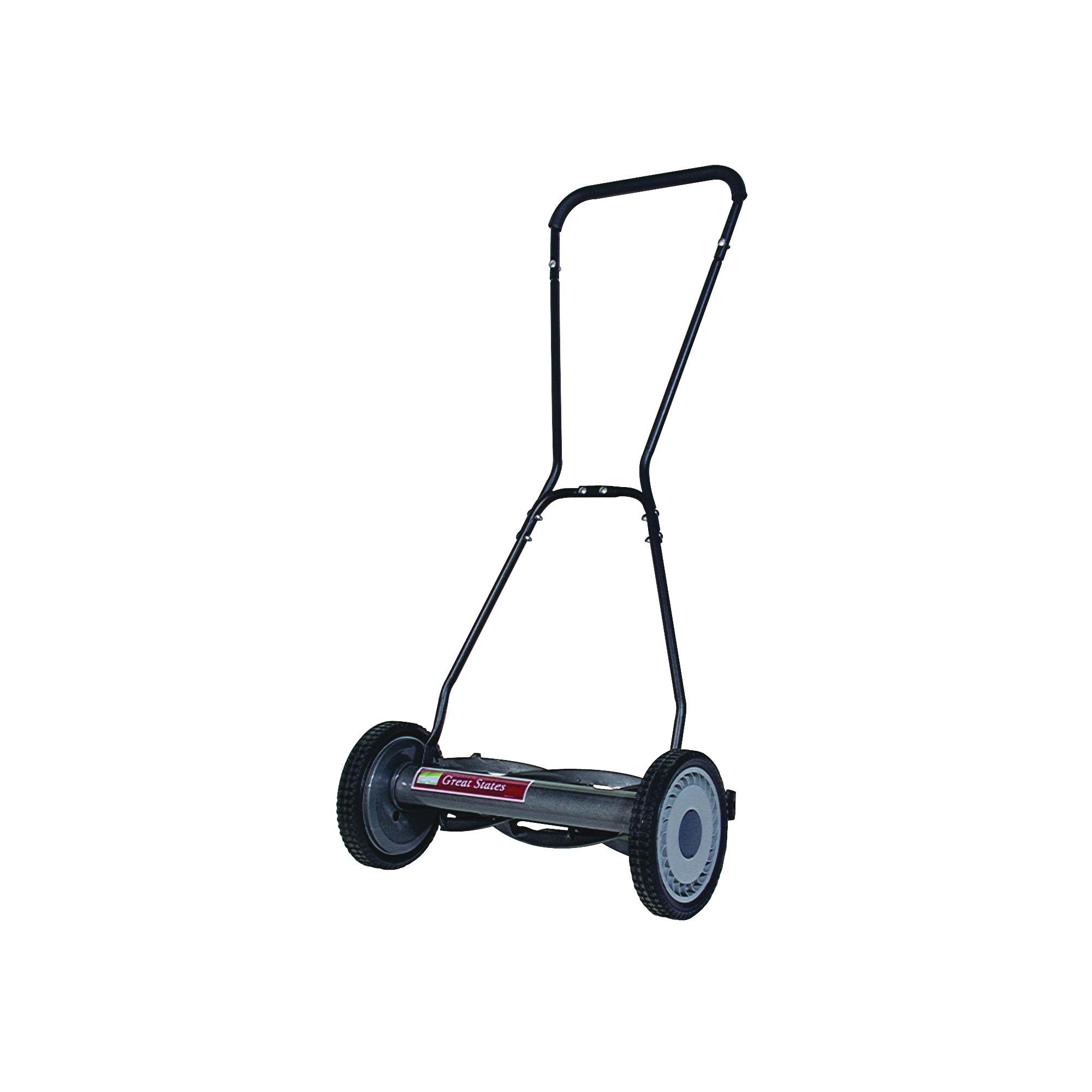Picture of GREAT STATES 815-18 Reel Lawn Mower, 18 in W Cutting, 5 -Blade, Smooth Blade, Foam-Grip Handle