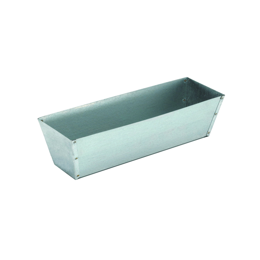 Picture of Marshalltown 813 Drywall Mud Pan, 12-1/2 in L Bottom, 3 in W Bottom, Aluminum