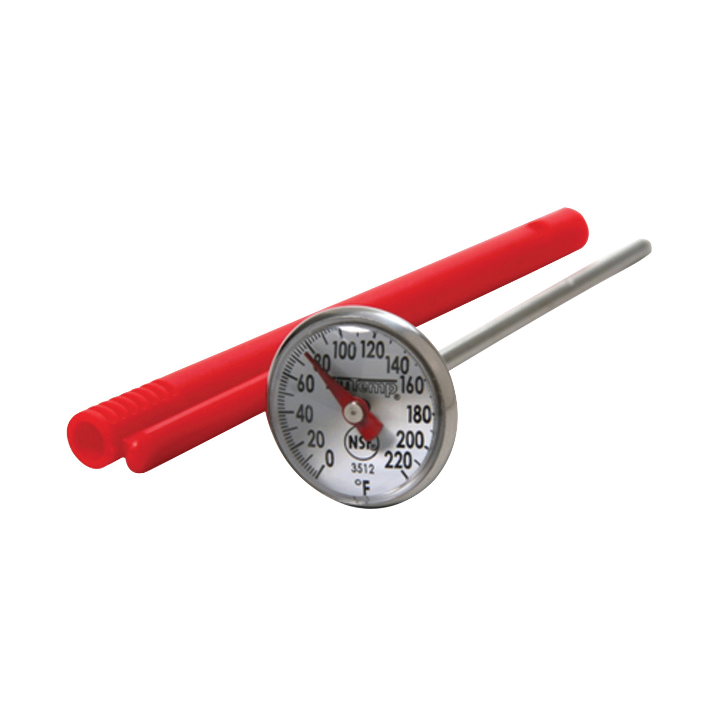 Picture of Taylor 3512 Instant Read Thermometer, 0 to 220 deg F, Analog Display, Gray