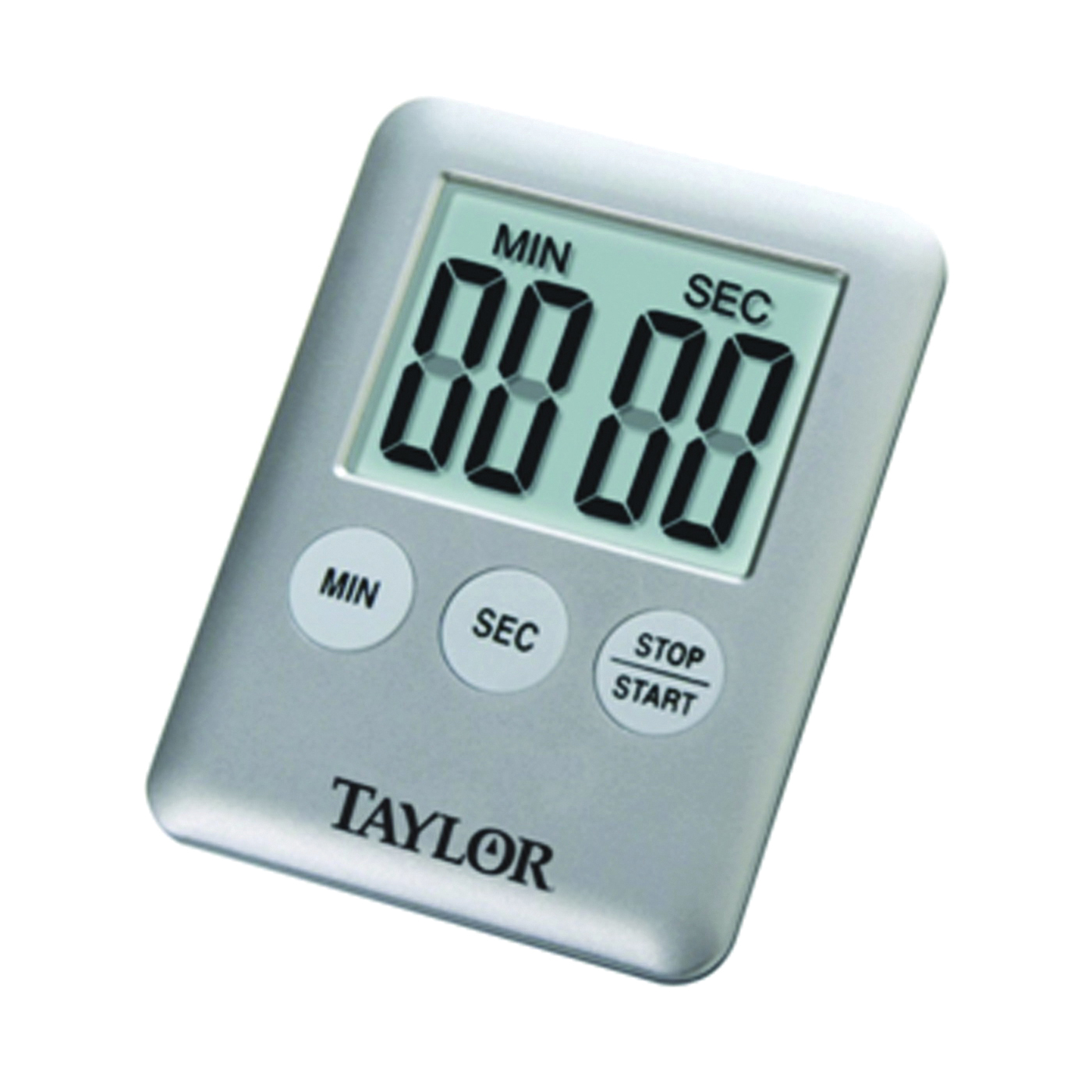 Picture of Taylor 5842N15 Timer, LCD Display, 0 min 0 sec to 99 min 59 sec, Gray