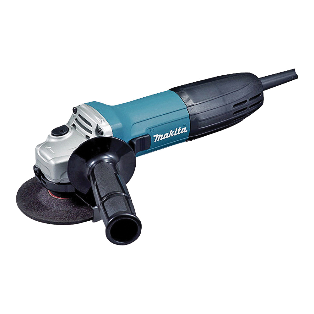 Picture of Makita GA4030K Angle Grinder, 120 V, 6 A, 4 in Dia Wheel, 11000 rpm Speed