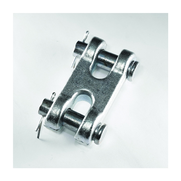 Picture of BARON 81380/196 Clevis Link, 3/8 in Trade, 6600 lb Working Load, 70 Grade, Steel, Zinc