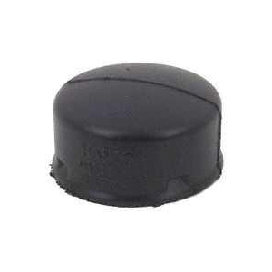 Picture of HANCOR 0432AA Drain End Cap, 4 in, Snap-Lock, Polyethylene