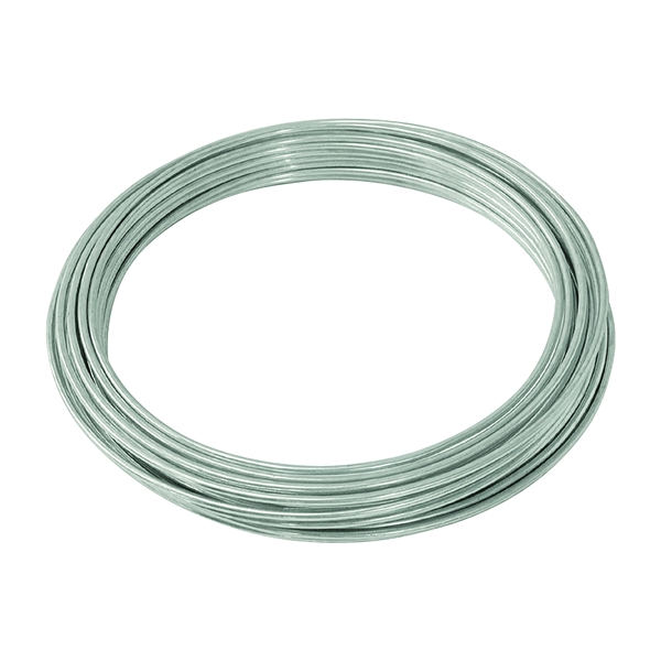Picture of HILLMAN 50140 Utility Wire, 50 ft L, 9 Gauge, Galvanized Steel