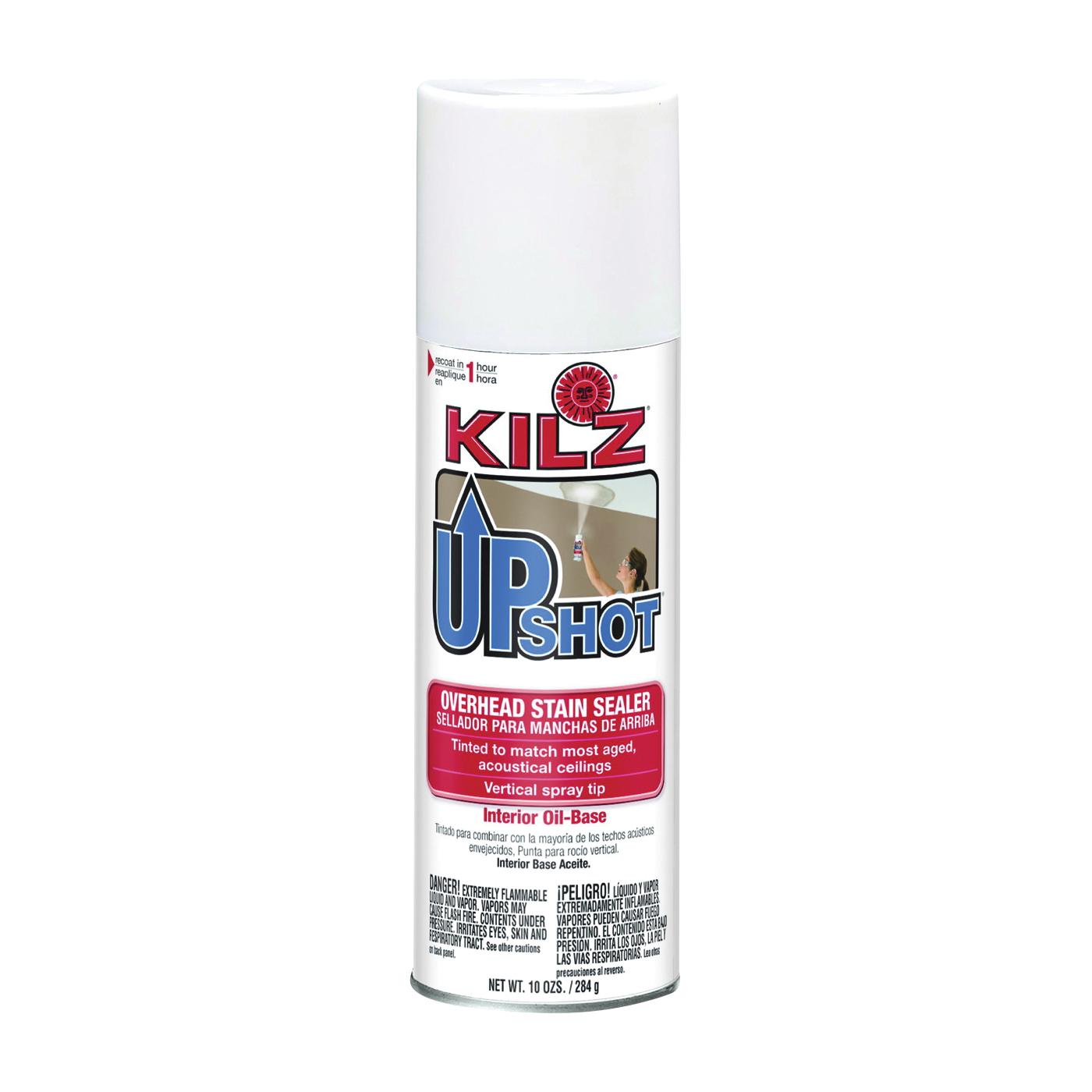 Picture of Kilz 10007 Stain Sealer, White, 10 oz