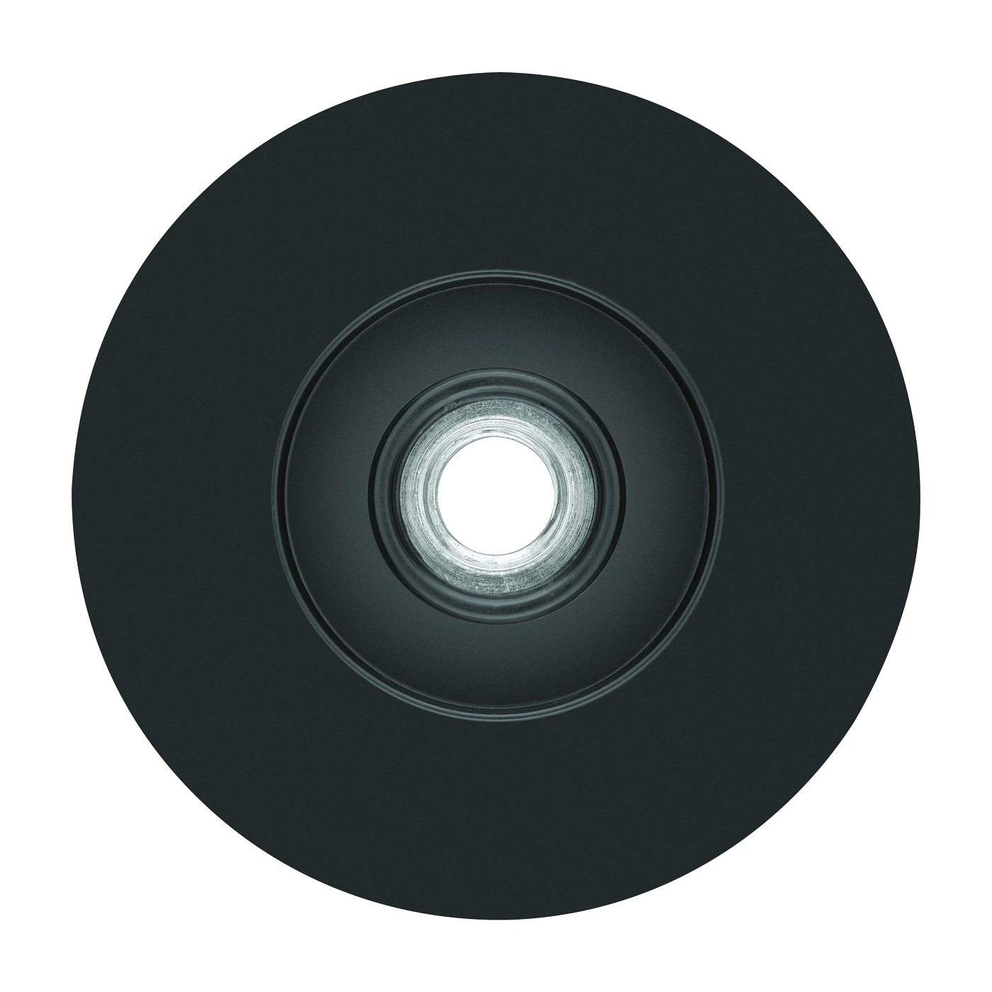 Picture of DeWALT DW4945 Fiber Disc Backing Pad, 4-1/2 in Dia, 5/8 in Arbor/Shank, Rubber