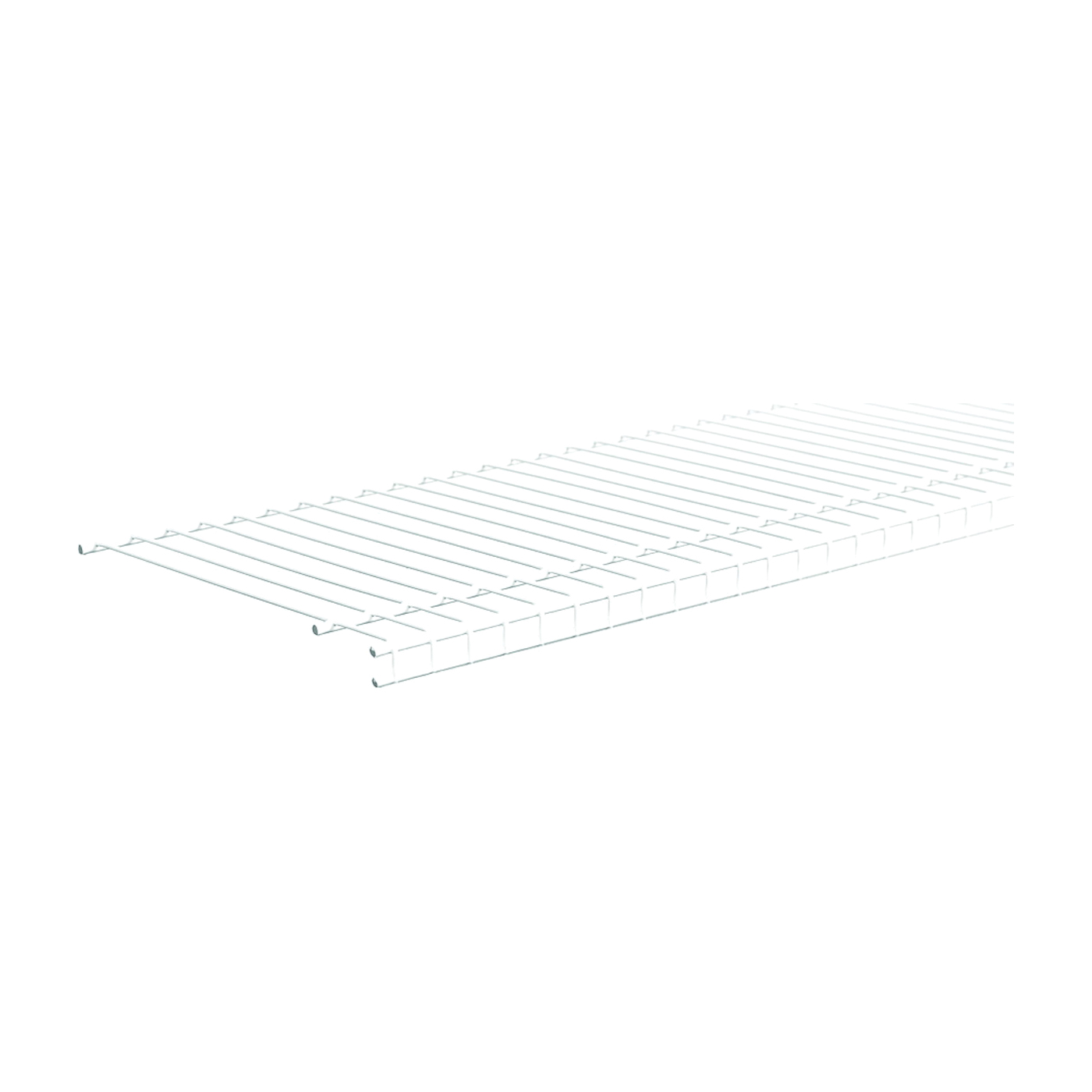 Picture of ClosetMaid SuperSlide 4735 Wire Shelf, 70 lb, 1-Level, 16 in L, 72 in W, Steel, White