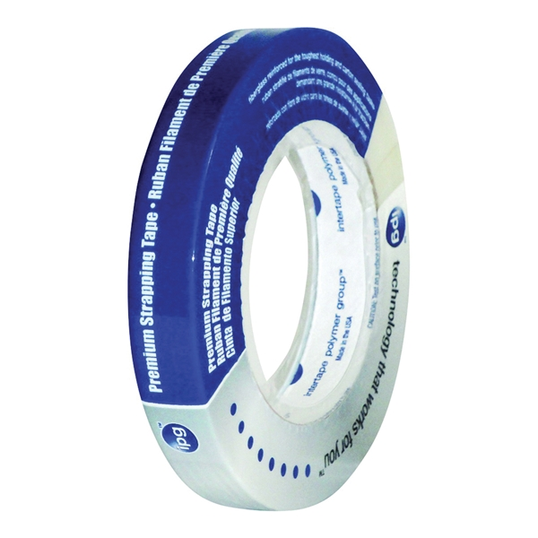 Picture of IPG 9716 Strapping Tape, 60 yd L, 0.94 in W, Polypropylene Backing, Natural