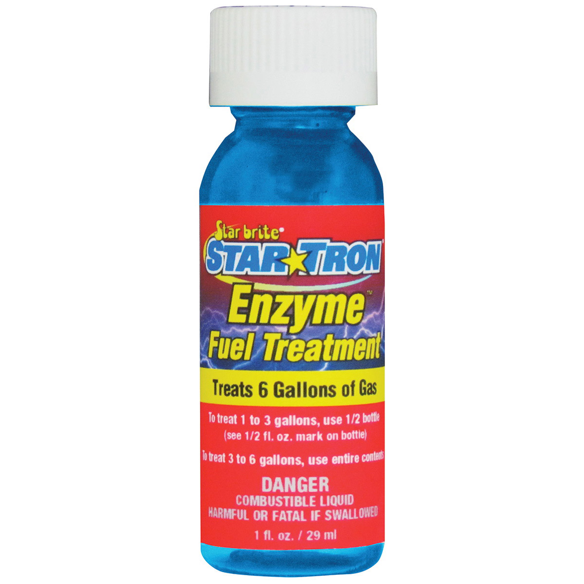 Picture of Star brite 14324 Fuel Treatment Clear, 1 oz Package, Case