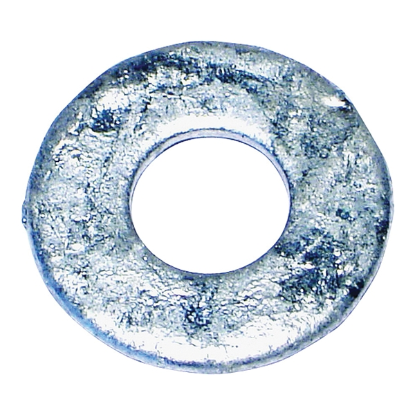 Picture of MIDWEST FASTENER 05625 Flat Washer, 1/4 in ID, Galvanized Steel, USS Grade