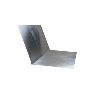 Picture of BILLY PENN 6790 Step Flashing, 5 in L, 5 in W, 0.01 Gauge, Aluminum