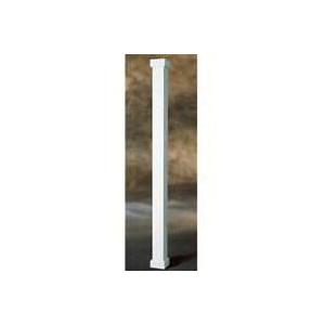 Picture of AFCO Empire 800EC608 Square Column, 8 ft H, Square, Pine, White