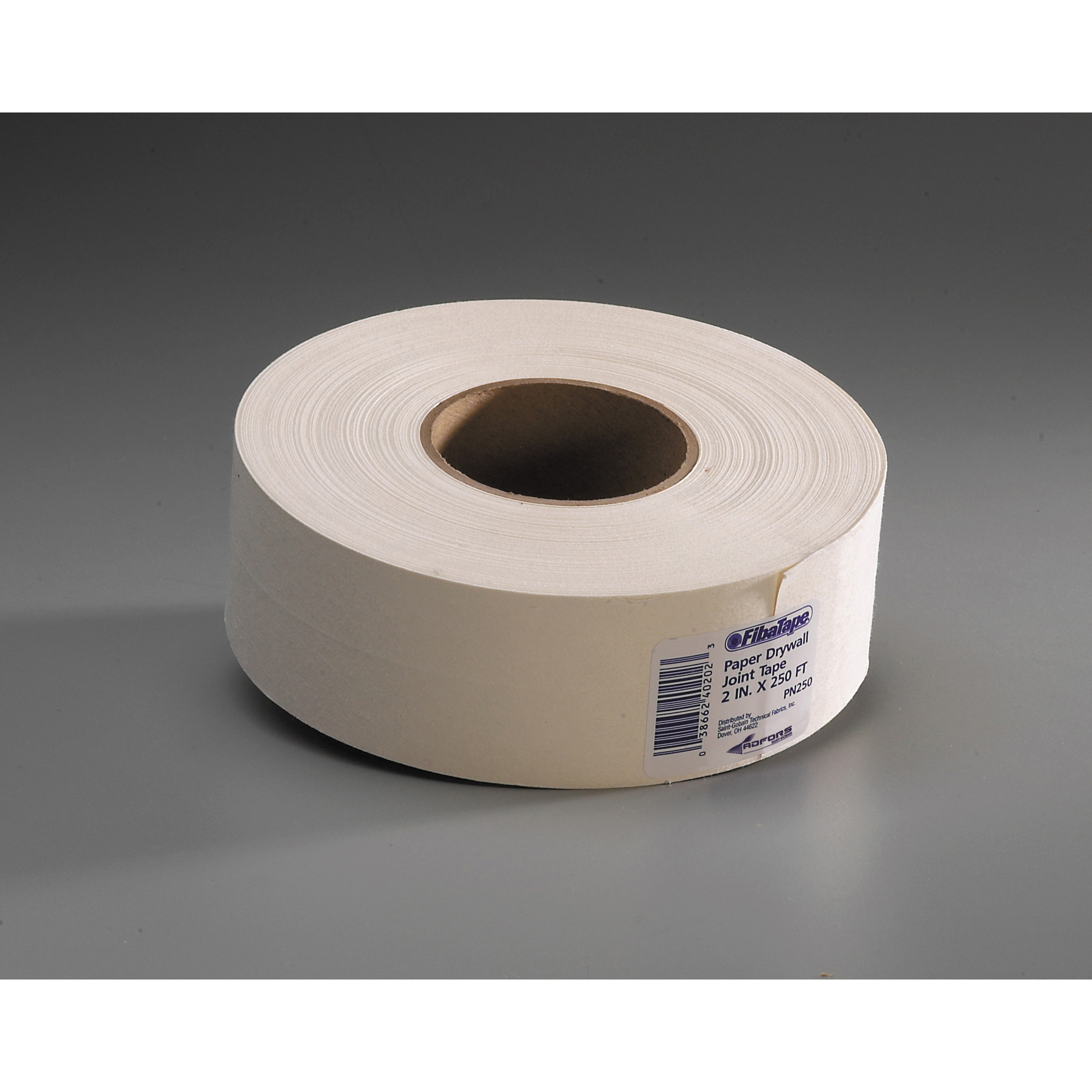 Picture of ADFORS FDW6618-U Drywall Joint Tape, 250 ft L, 2 in W, White