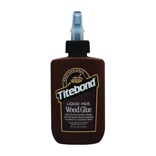 Picture of Titebond II 5012 Hide Glue, Amber, 4 oz Package, Bottle