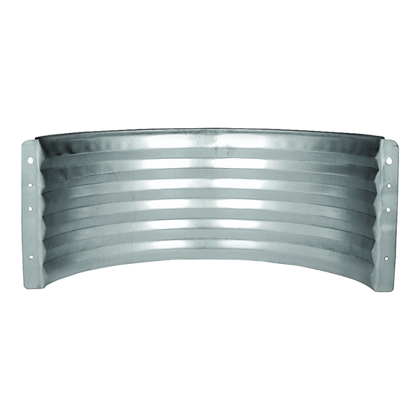 Picture of MARSHALL STAMPING AWR12/680 Area Wall, 16 in L, 37 in W, 12 in H, Galvanized Steel