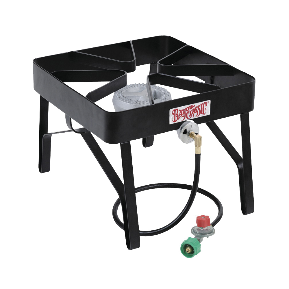 Picture of Bayou Classic SQ14 Square Burner, 1 -Burner, Propane, Steel