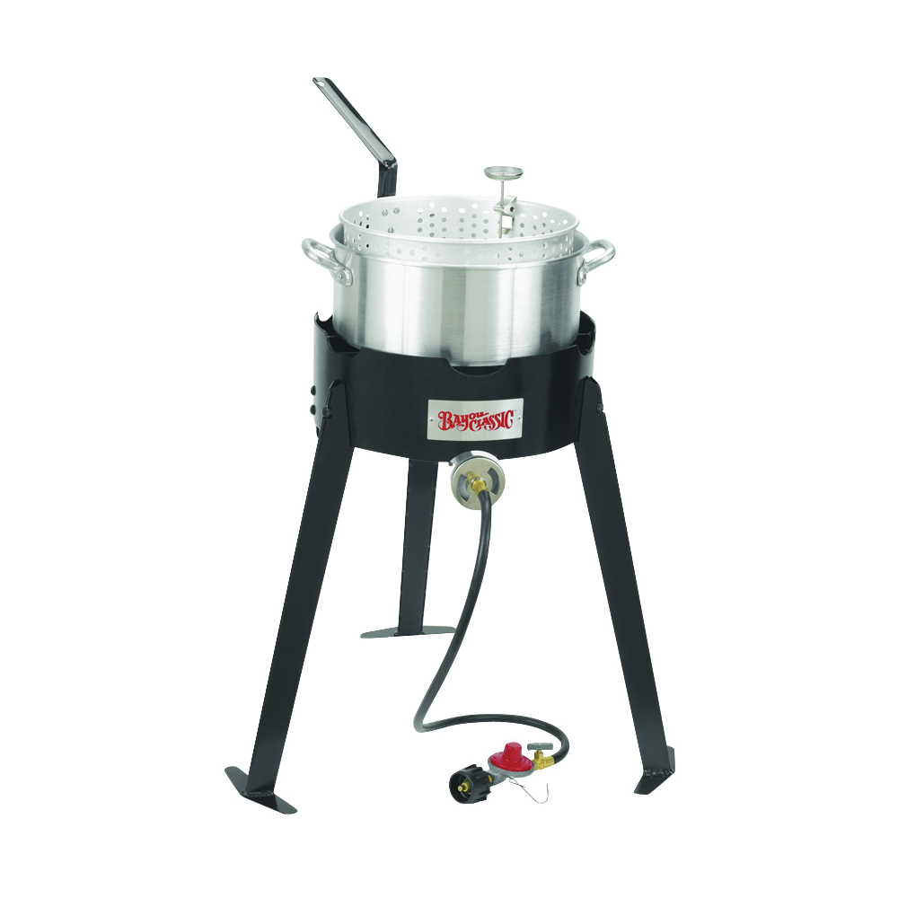 Picture of Bayou Classic 2212 Fryer Cooking Kit, 10 qt Capacity, Aluminum