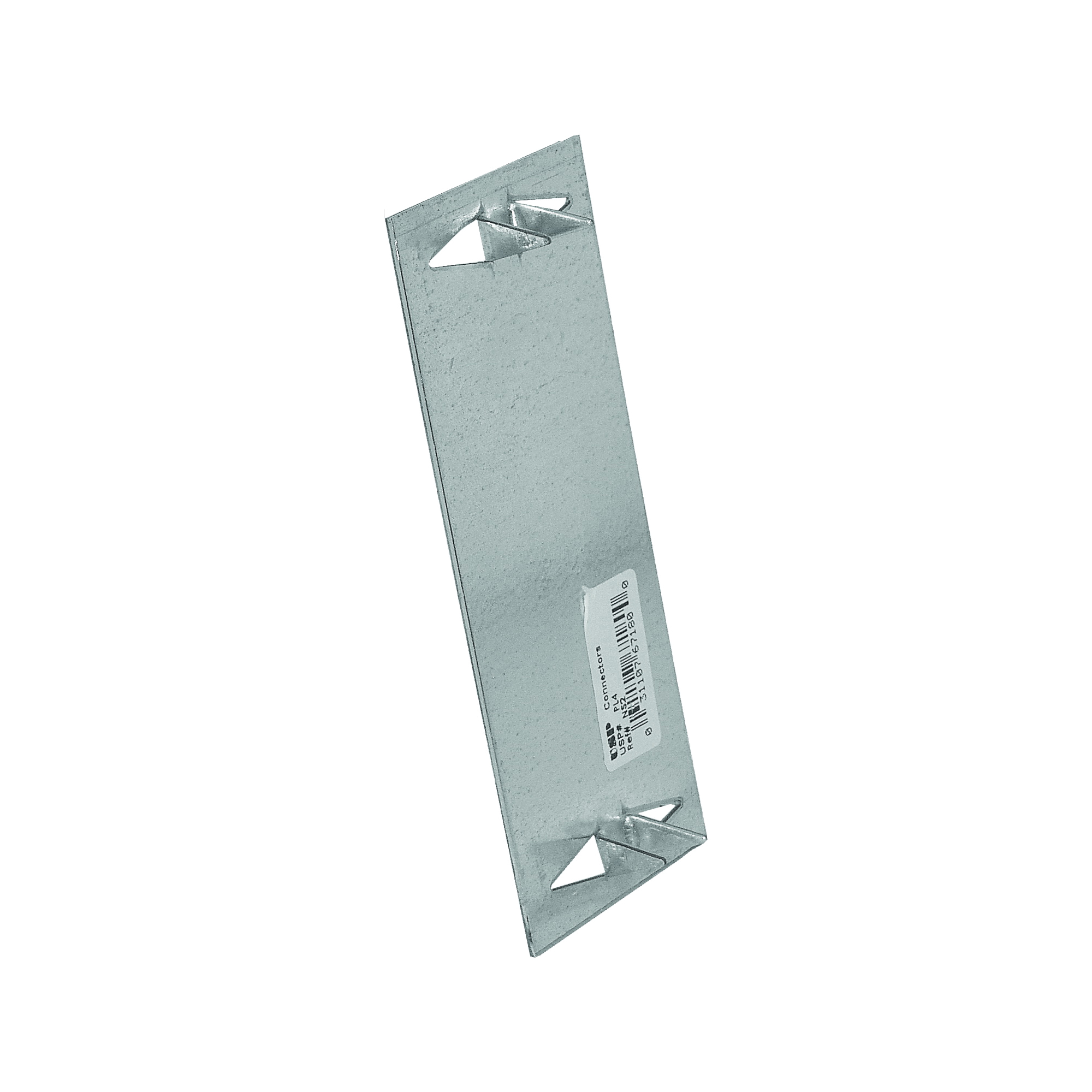 Picture of MiTek PL Series PL4 Protection Plate, 5 in L, 2 in W, 1/16 in Thick, Galvanized Steel