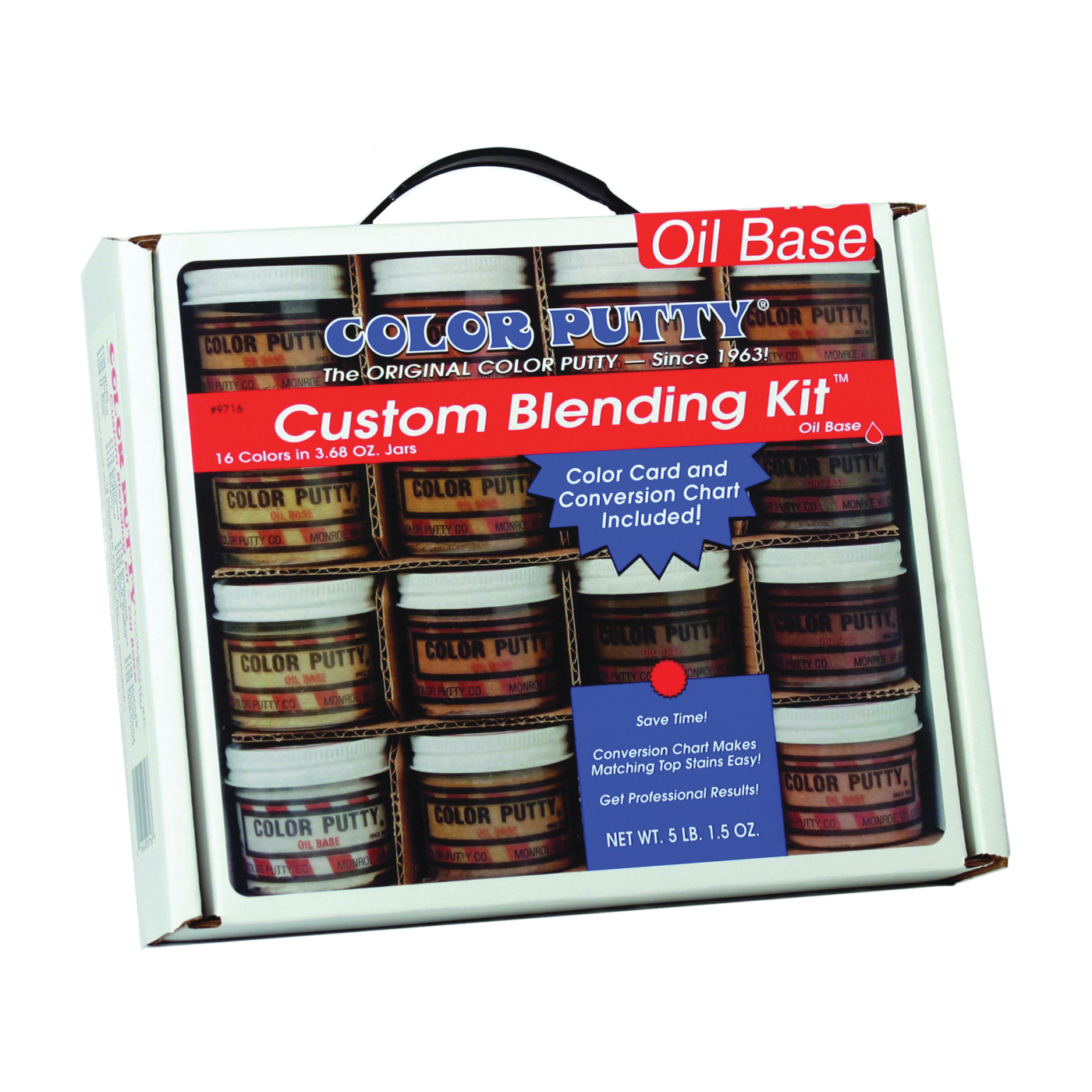 Picture of COLOR PUTTY 9716 Custom Blending Kit, Paste, Mild