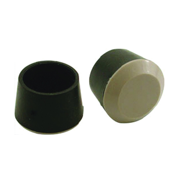 Picture of Shepherd Hardware 9220 Furniture Leg Tip, Round, Off-White