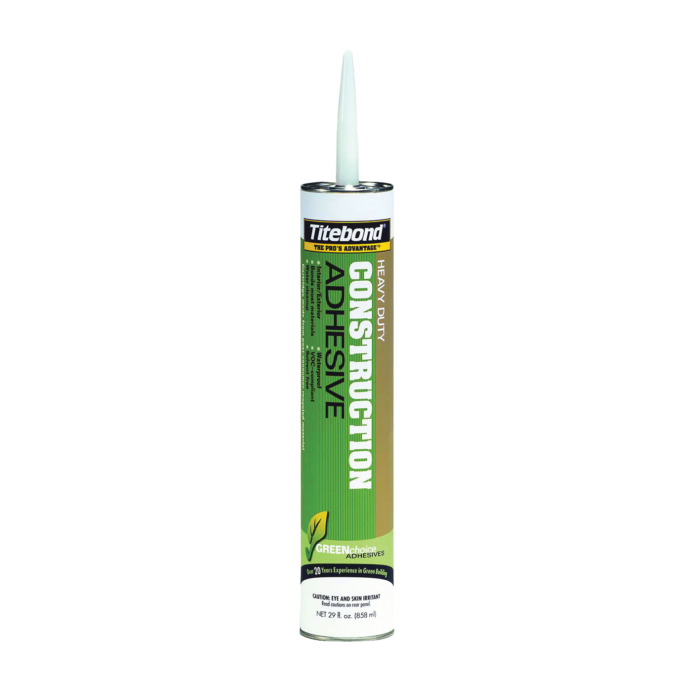 Picture of Titebond 7472 Construction Adhesive, Beige, 28 oz Package, Cartridge
