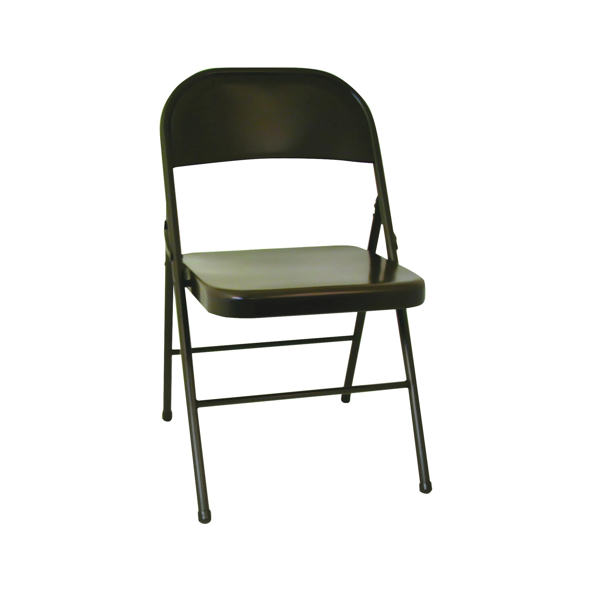 Picture of Cosco 14-711 05X/147110 Folding Chair, 18-1/2 in OAW, 5-1/2 in OAD, 39-1/2 in OAH, Steel Frame, Vinyl Tabletop