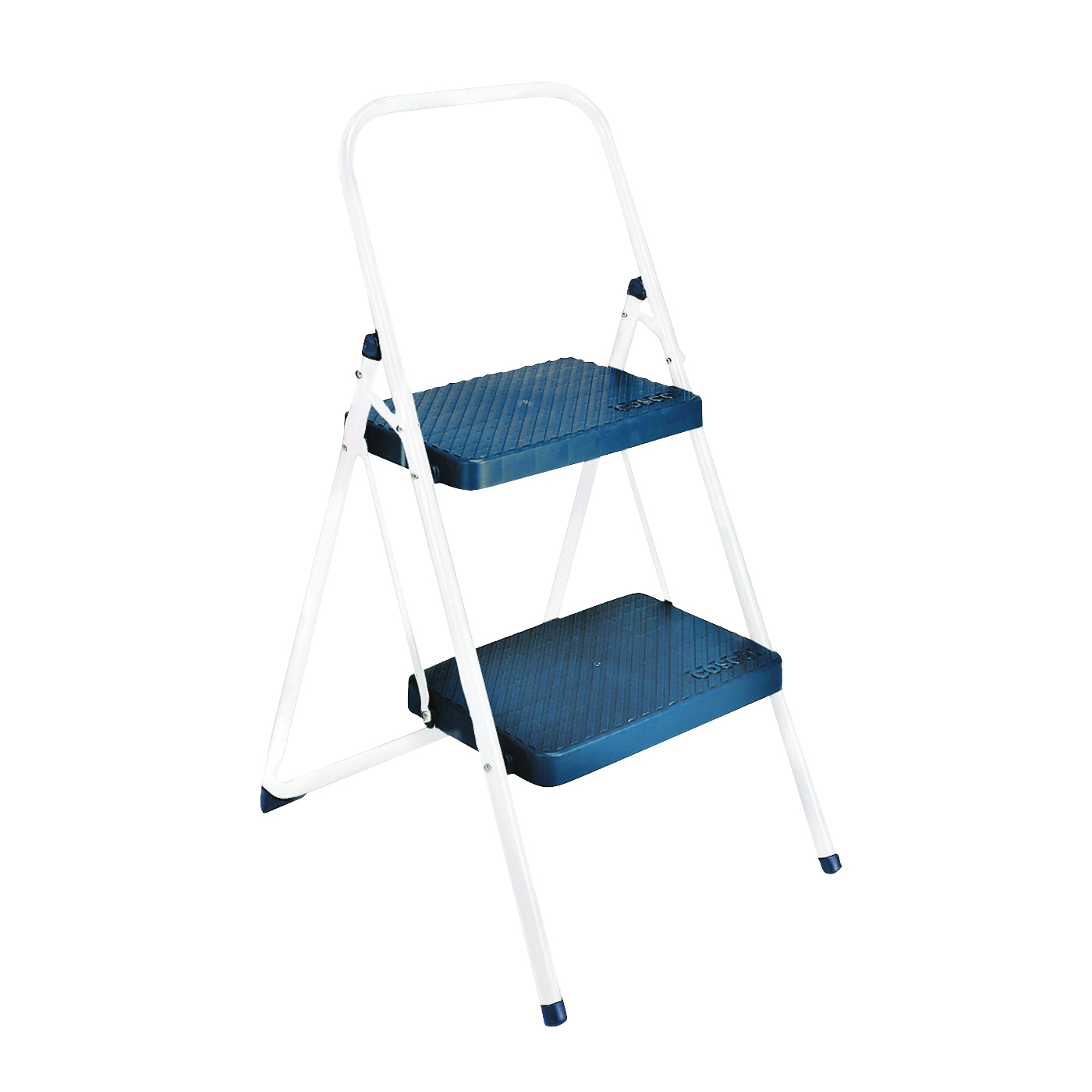 Picture of Cosco 11565CGGL4 Folding Step Stool, 34.646 in H, 200 lb, Black