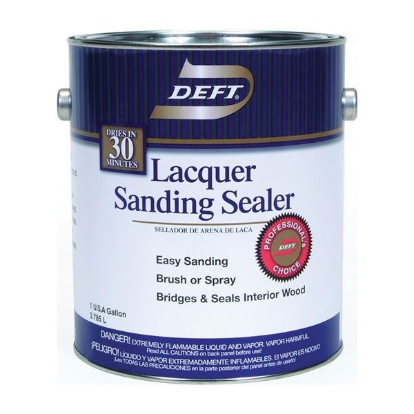 Picture of DEFT 015-01 Sanding Sealer, Clear, Liquid, 1 gal