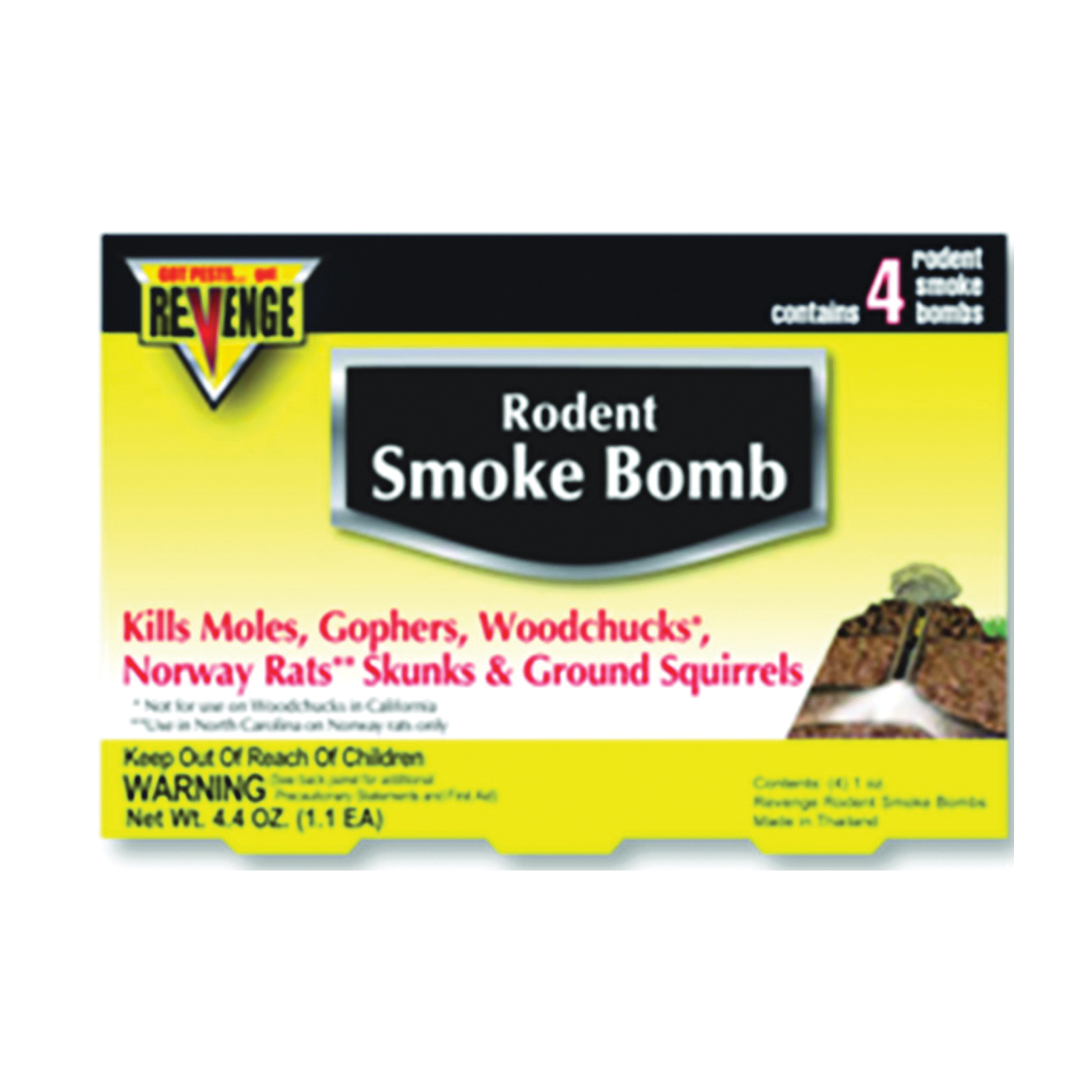 Picture of Bonide 61110 Rodent Smoke Bomb