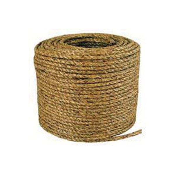 Picture of T.W. Evans Cordage 30-001 Rope, 1/4 in Dia, 1200 ft L, Manila, Natural, Spool