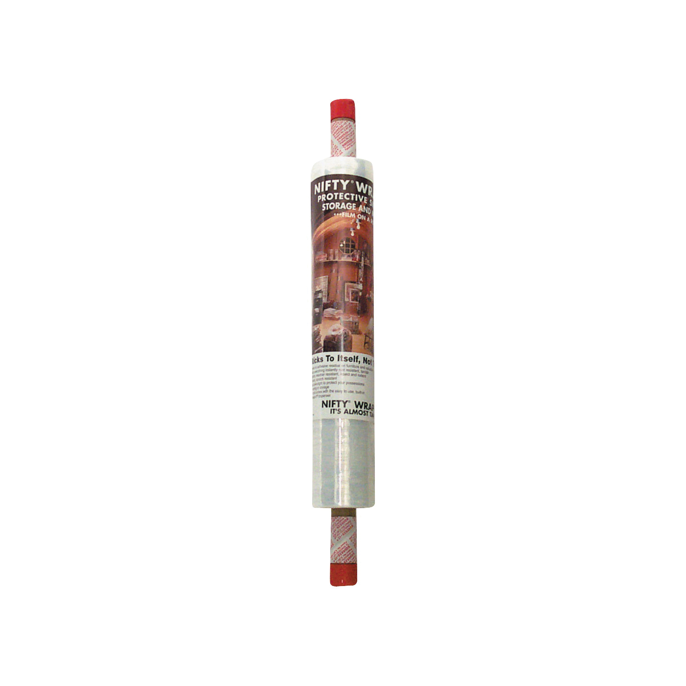 Picture of Nifty Wrapper FST72 Stretch Film, 1000 ft L, 20 in W, Clear