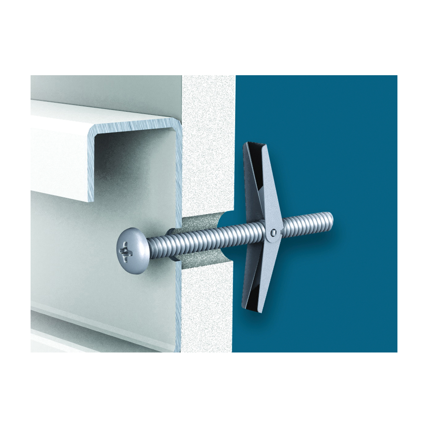 Picture of ClosetMaid ShelfTrack 2877 Wall Anchor, Steel, 10