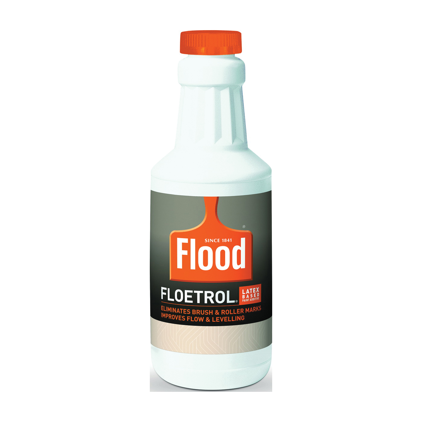 Picture of Flood FLD6-04 Latex-Based Paint Additive, White/Yellow, Liquid, 1 qt, Can
