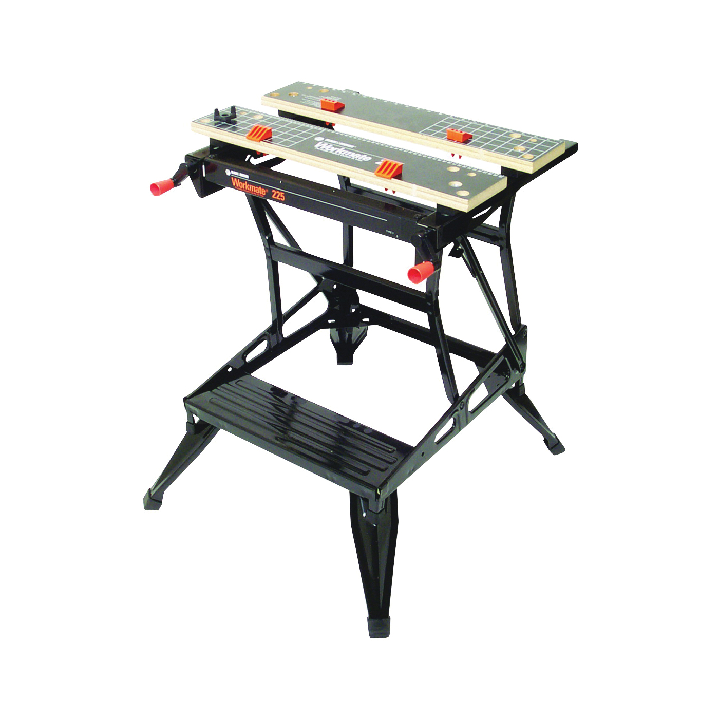 Picture of Black+Decker WM225 Workbench with One-Handed Clamp, 24 in OAW, 30 in OAH, 13-1/2 in OAD, 450 lb Capacity
