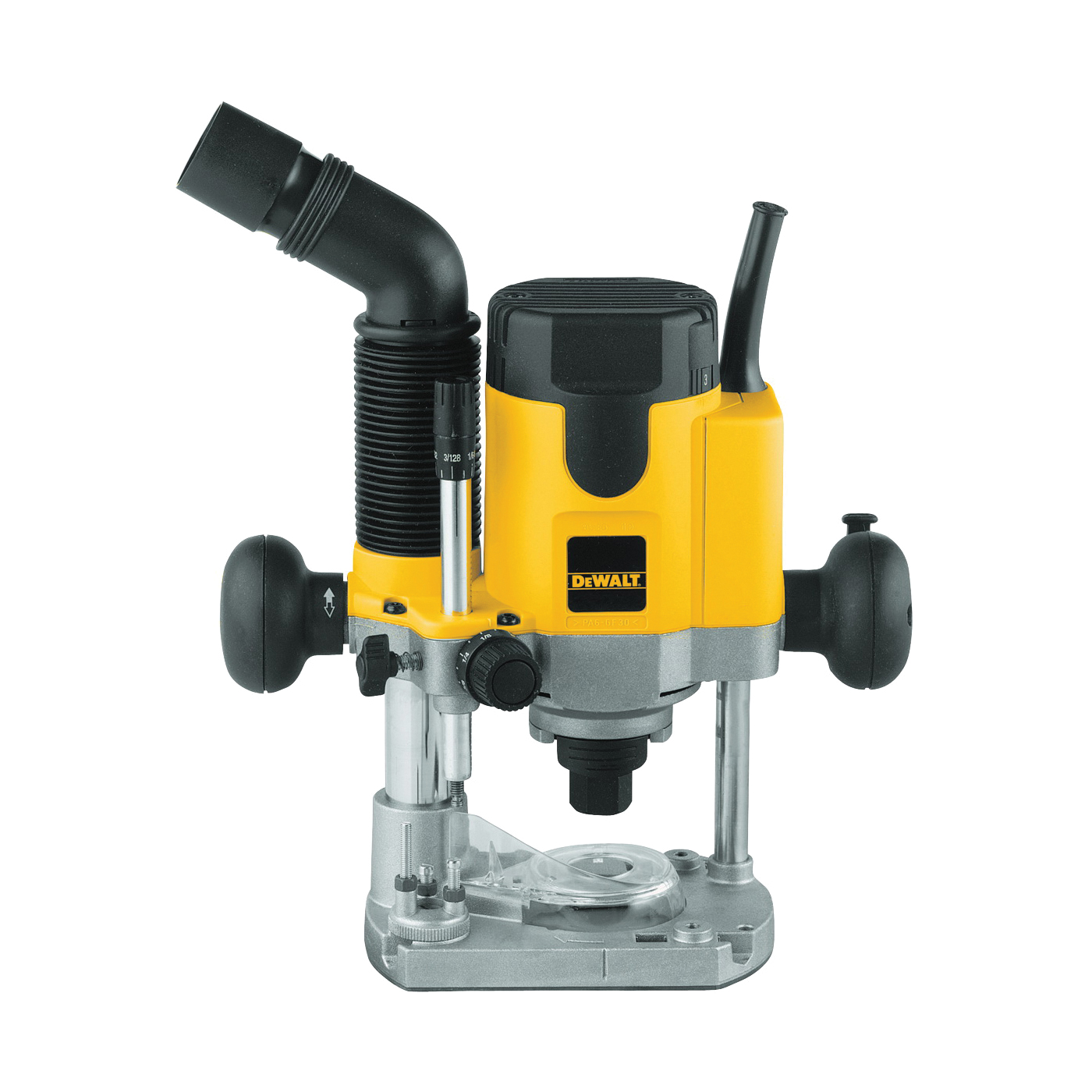 Picture of DeWALT DW621 Plunge Router, 120 V, 10 A, 8000 to 24,000 rpm No Load