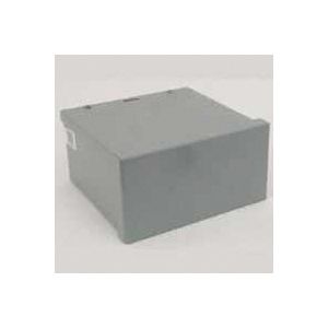 Picture of Wiegmann RSC060604RC Screw Cover, 1-Gang, Carbon Steel, Gray, Polyester Powder-Coated, Wall Mounting