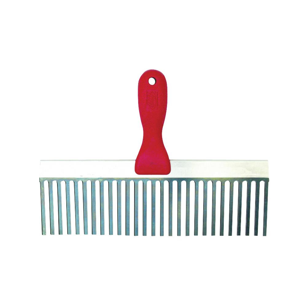 Picture of Marshalltown 723 Plaster Scarifier, 12 in W Blade, 3 in L Blade, Steel Blade, Structural Foam Handle
