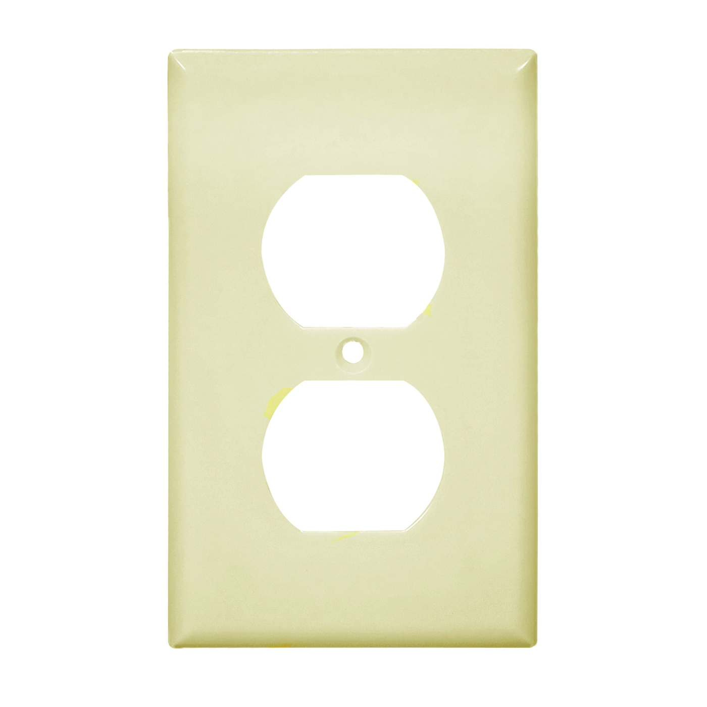 Picture of Eaton Wiring Devices 2132V Wallplate, 4-1/2 in L, 2-3/4 in W, 1-Gang, Thermoset, Ivory, High-Gloss