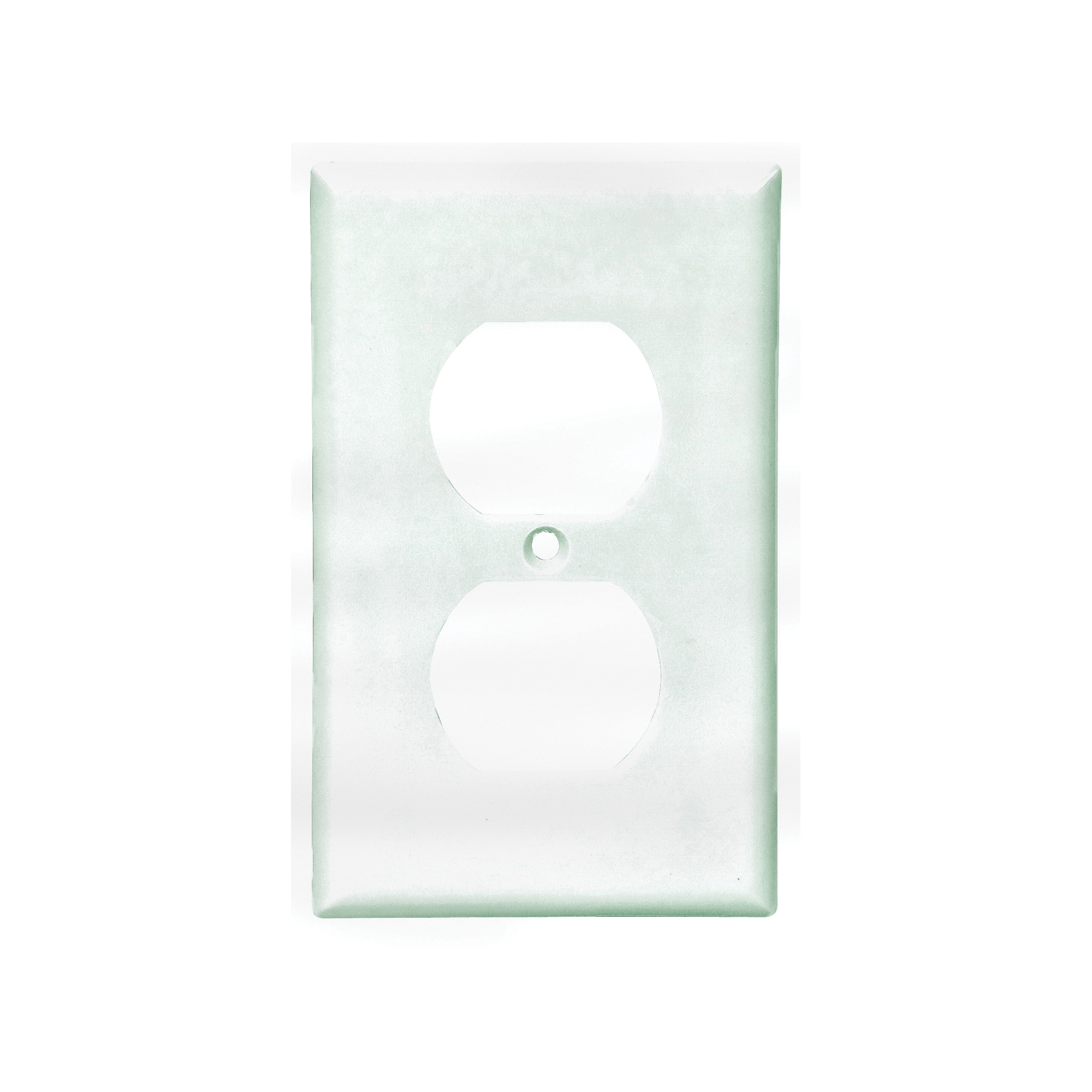 Picture of Eaton Wiring Devices 2132W Wallplate, 4-1/2 in L, 2-3/4 in W, 1-Gang, Thermoset, White, High-Gloss